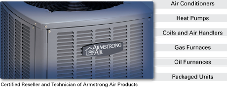 Certified Reseller and Technician of Armstrong Air Products